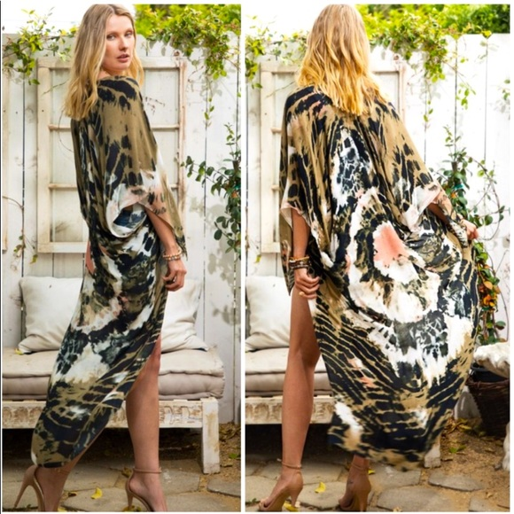 Olivia Tye Dye Duster Kimono